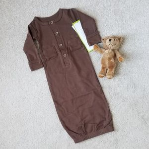 NWT L'ovedbaby Organic Gown